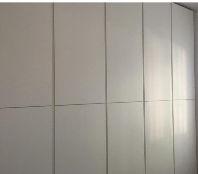 Armadio a muro bianco Baldi Mobili